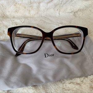 DIOR Frames Glasses Montaigne 8 Havana - Like New